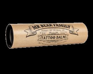Овлажняващ балсам за след татуиране - Mr. Bear Family Tattoo Balm