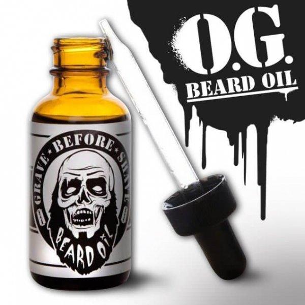 Масло за брада, с цитрусов аромат - Grave Before Shave Original Blend Beard Oil