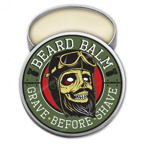 Балсам за брада, с аромат на евкалипт и цитрус - Grave Before Shave Original Blend Beard Balm