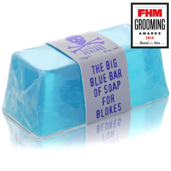 Сапун за тяло - The Bluebeards Revenge Big Blue Bar of Soap for Blokes