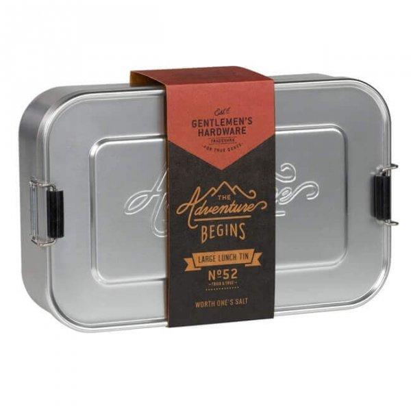 Алуминиева кутия за храна - Gentlemen`s Hardware