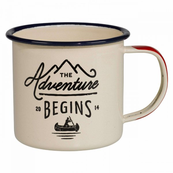 Емайлирано канче  - The Gentlemen`s Hardware Enamel Mug Cream