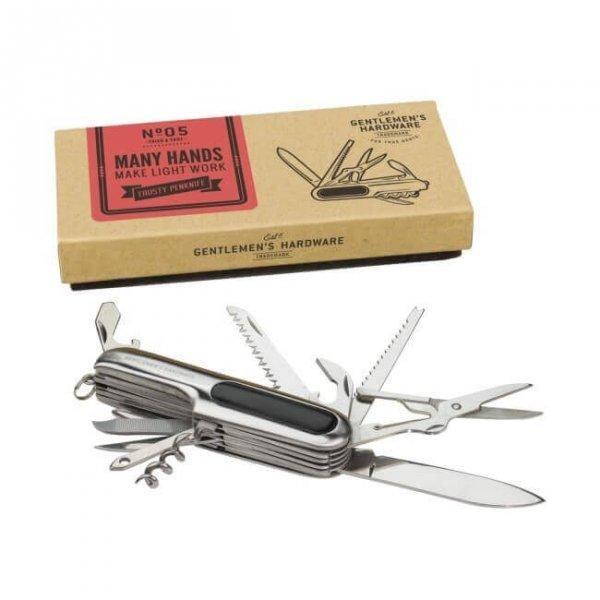 Мултифункционално джобно ножче - Gentlemen`s Hardware