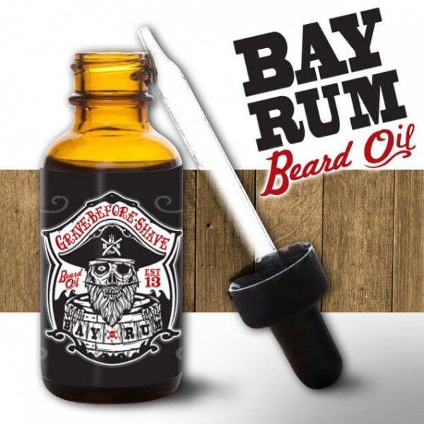 Масло за брада, с класически Bay Rum аромат - Grave Before