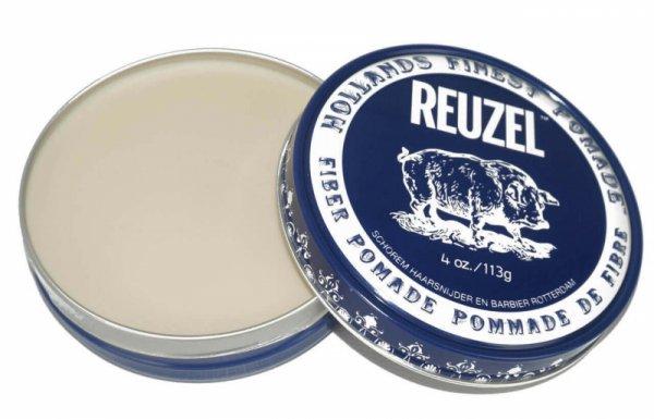 Водоразтворима помада за коса, с матов ефект и средно задържане - Reuzel Fiber Pomade