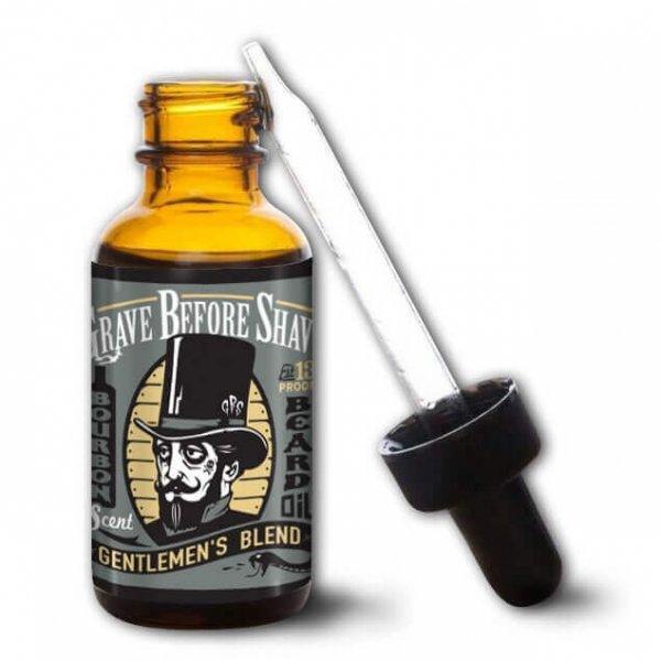 Масло за брада, с аромат на бърбън - Grave Before Shave