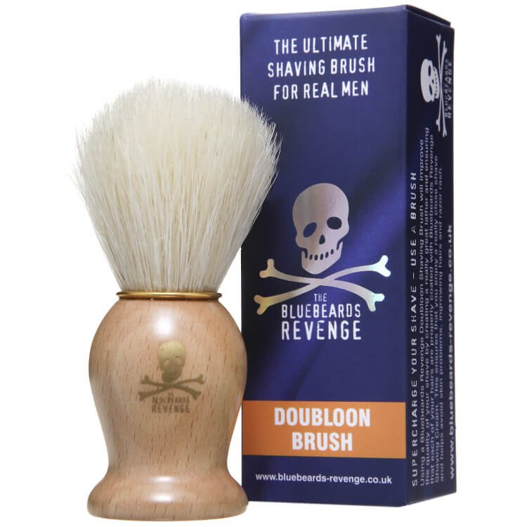The Bluebeards Revenge 'Doubloon' Bristle Shaving Brush  (1)