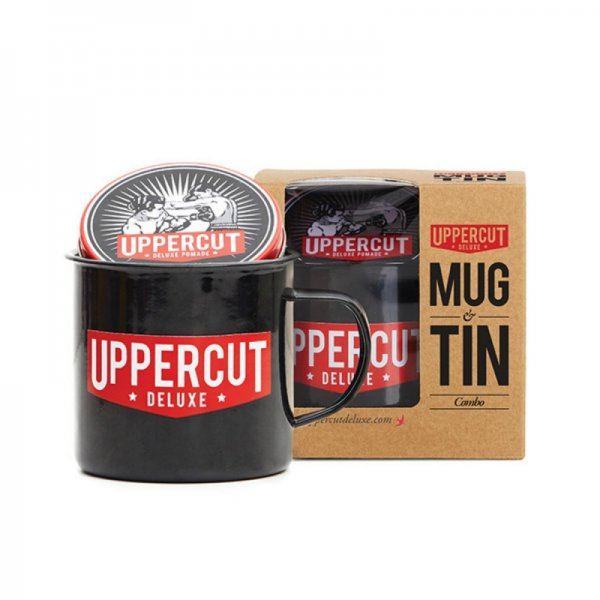 Подаръчен ПРОМО сет - помада за коса и чаша Uppercut Deluxe