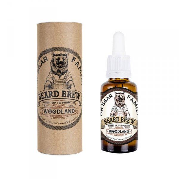 Масло за брада с аромат на гора - Mr. Bear Family Beard Brew Woodland