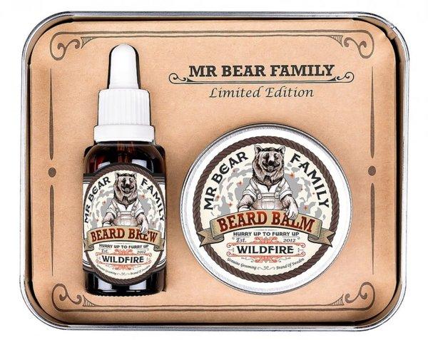 Комплект лимитирана серия масло и балсам за брада - Mr.Bear Family Wildfire Limited Edition
