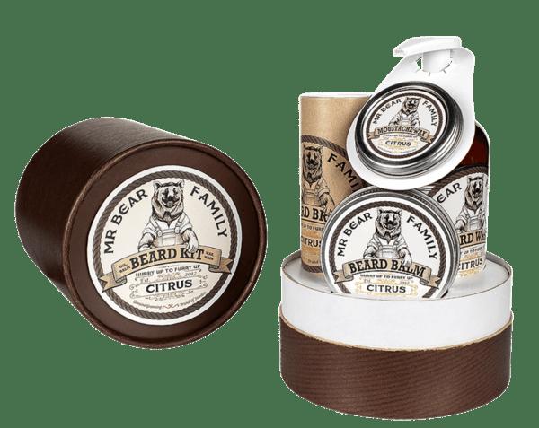 Комплект за брада цитрус - Mr.Bear Family Beard Kit Citrus