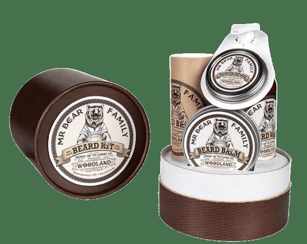 Комплект за брада с аромат на гора - Mr.Bear Family Beard Kit Woodland