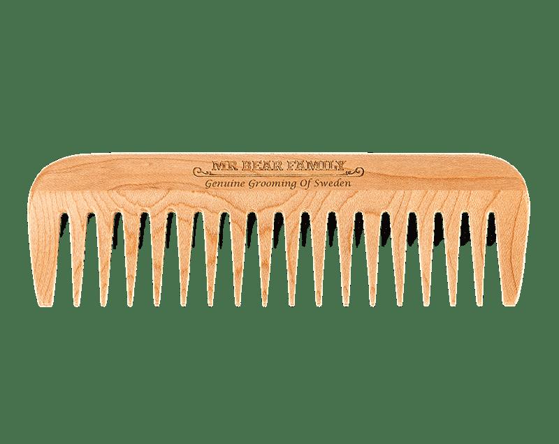 Гребен за брада от кленово дърво - Mr.Bear Family Beard Comb