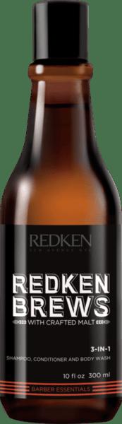 Продукт 3 в1 за коса и тяло - Redken Brews 3-in-1