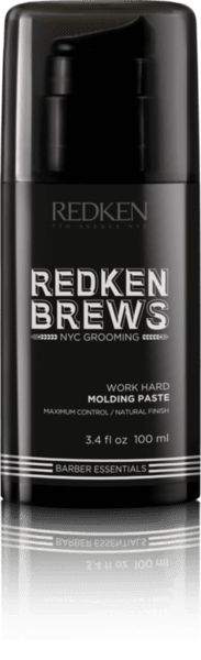 Моделираща паста за коса - Redken Brews Work Hard Molding Paste