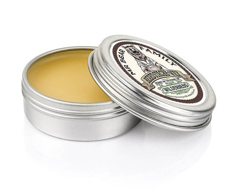 Лека вакса за мустаци с аромат на гора - Mr. Bear Family Beard Stache Wax Wilderness