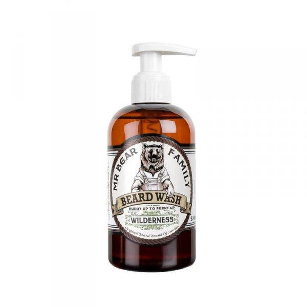 Шампоан за брада с аромат на дива природа - Mr. Bear Family Beard Wash Wilderness