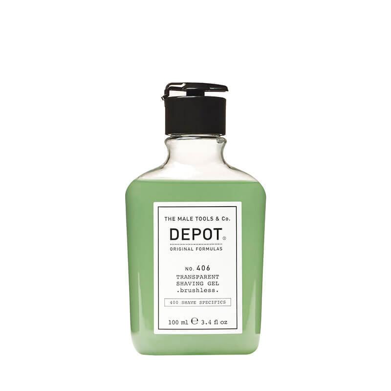 Прозрачен гел за бръснене без четка - Depot Transperant Shaving Gel brushless