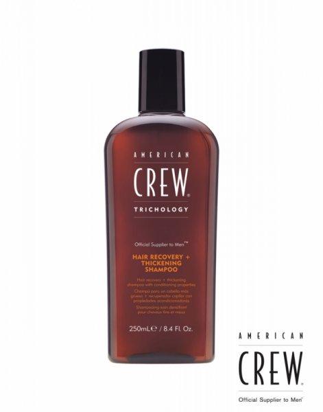 Шампоан и балсам 2 в 1 против косопад - American Crew Hair Recovering and Thickening Shampoo