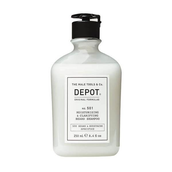 Овлажняващ и пречистващ шампоан за брада - Depot Moisturizing & Clarifying Beard Shampoo