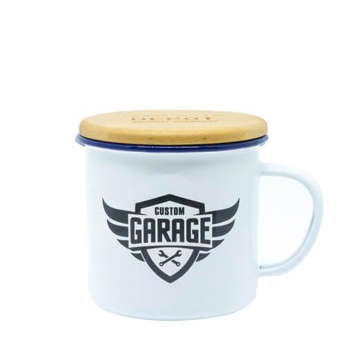 Емайлирано метално канче Depot Custom Garage