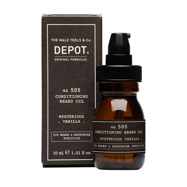Масло за брада - Depot Beard Oil MYSTERIOUS VANILLA