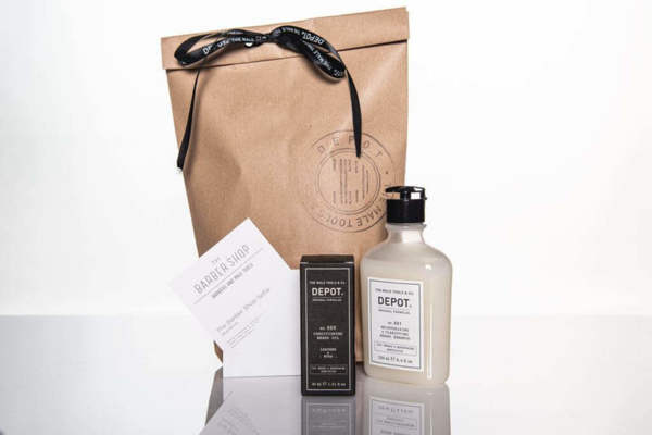Подаръчен ПРОМО сет - масло и шампоан за брада + ваучер за оформяне на брада