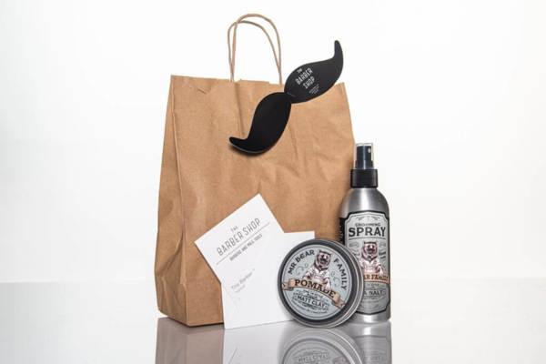 Подаръчен ПРОМО сет - стилизиращи продукти за коса + ваучер за подстригване