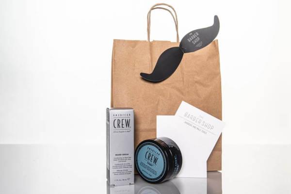 Подаръчен ПРОМО сет - серум за брада, крем за коса и ваучер за подстригване и брада