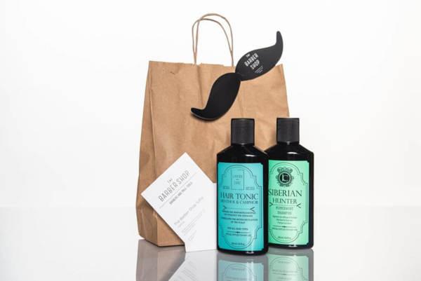 Подаръчен ПРОМО сет - шампоан и тоник за коса Lavish Care + ваучер за подстригване