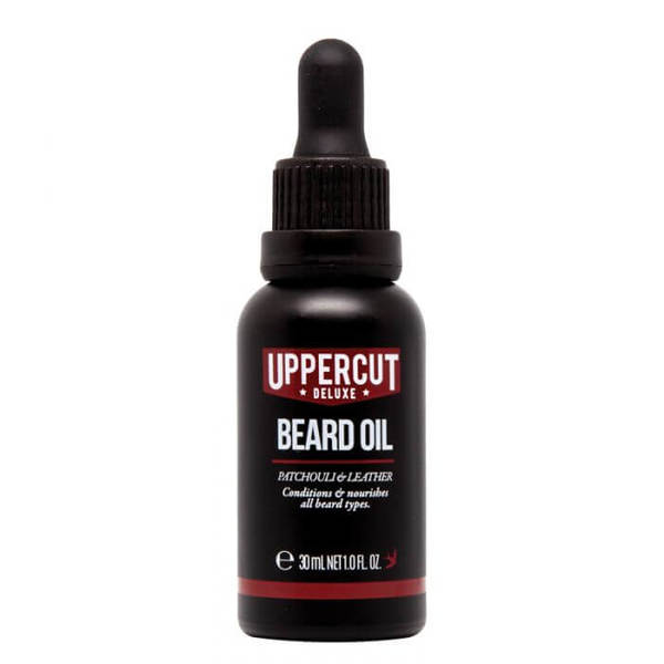 Масло за брада с аромат на пачули и кожа - Uppercut Beard Oil