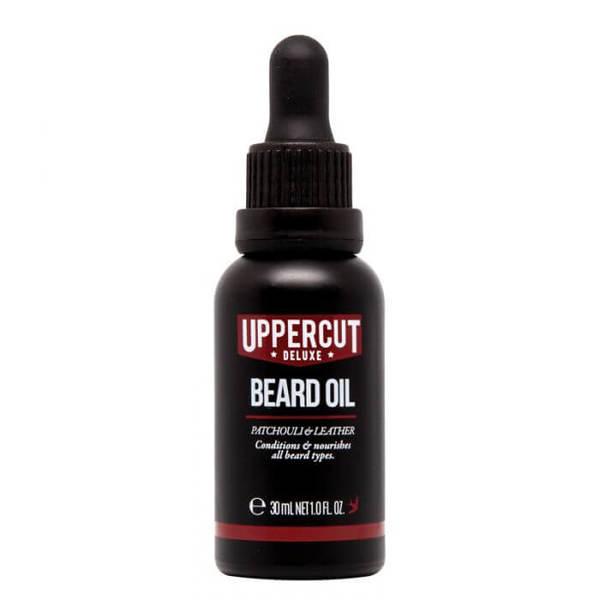 Масло за брада с аромат на пачули и кожа - Uppercut Beard Oil