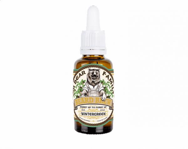 Масло за брада с аромат на билки и мента - Mr. Bear Family Beard Brew Wintergreen