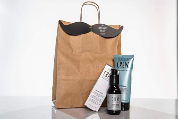 Подаръчен ПРОМО сет American Crew стилизиращ крем за коса + серум за брада