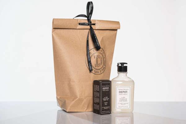 Подаръчен ПРОМО сет - Depot масло и шампоан за брада