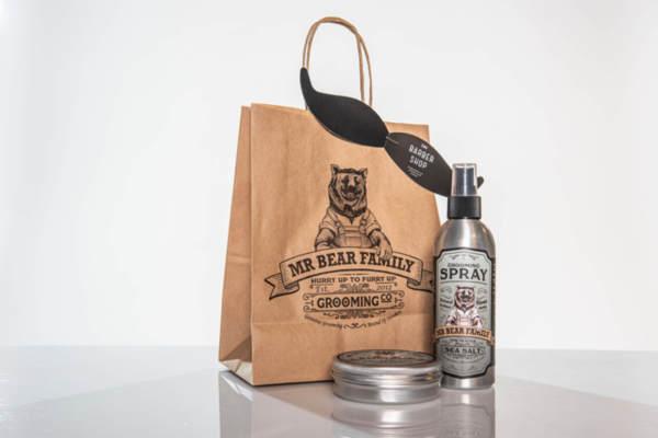 Подаръчен ПРОМО сет Mr.Bear Family стилизиращи продукти за коса