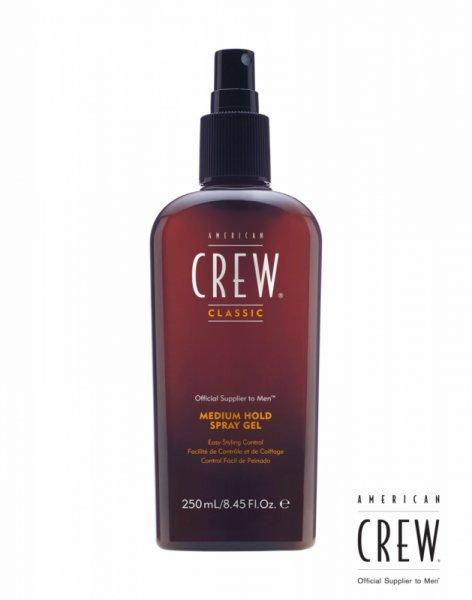 Спрей гел със средна фиксация  - American Crew Medium Hold Spray Gel