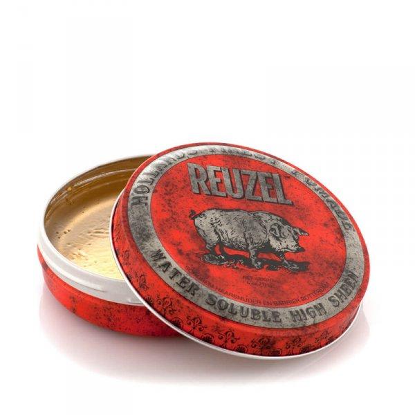 Водоразтворима помада за коса със средна фиксация и лек блясък - Reuzel Red
