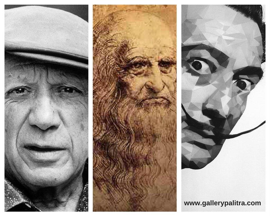 Мислите на великите художници - първа част