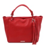 Италианска дамска чанта естествена кожа TL BAG TL142048