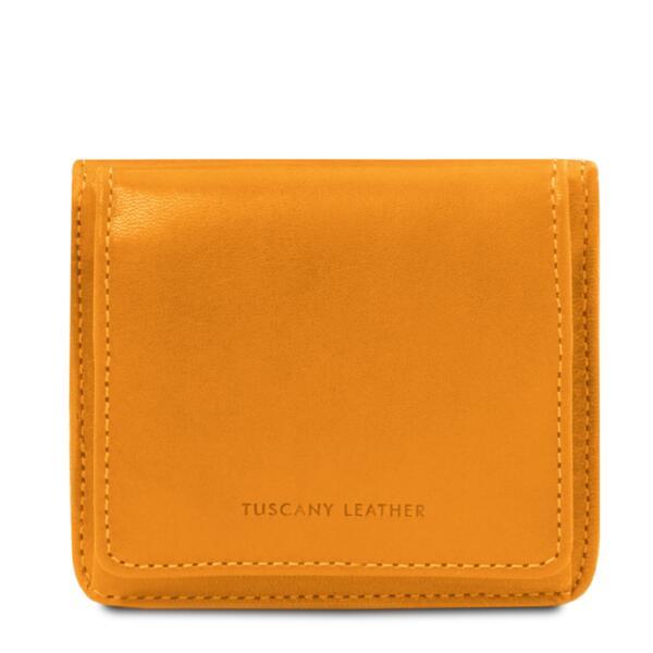 Италиански портфейл от естествена кожа TL142059
