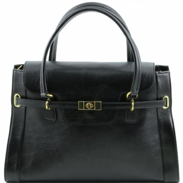 Италианска чанта от естествена кожа TL NeoClassic TL141230