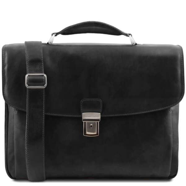 """Италианска мъжка бизнес чанта за 15.6"""" лаптоп Alessandria TL141448"""
