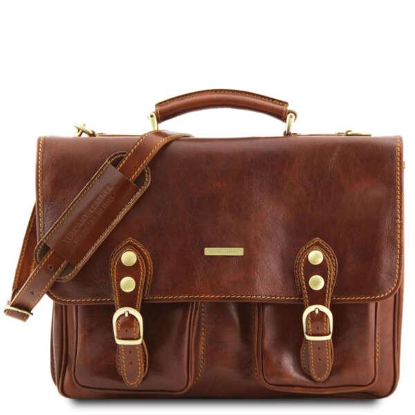 Италианска мъжка бизнес чанта Modena TL141134
