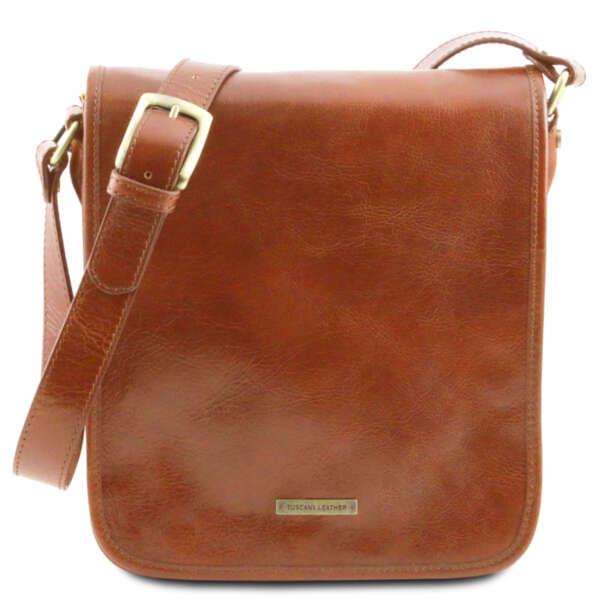 Италианска бизнес чанта от естествена кожа TL Messenger TL141255