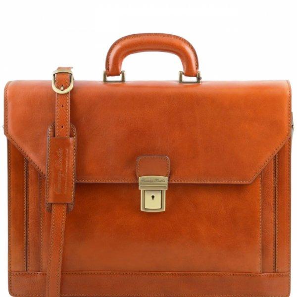 Италианска мъжка бизнес чанта Roma TL141349