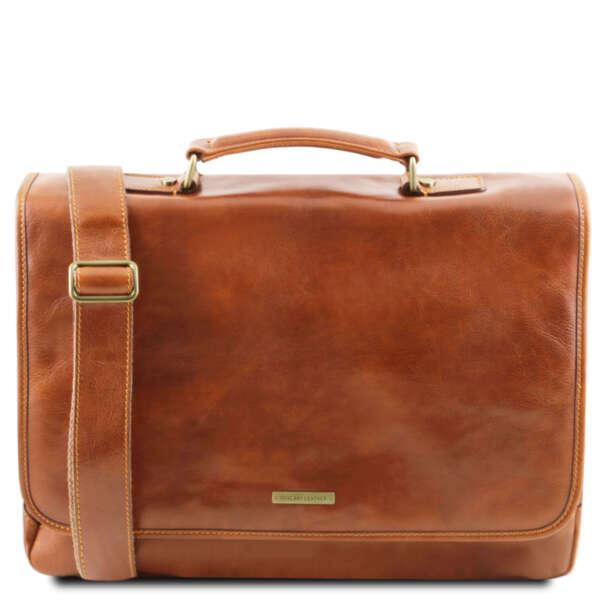 Италианска мъжка бизнес чанта Mantova TL141450