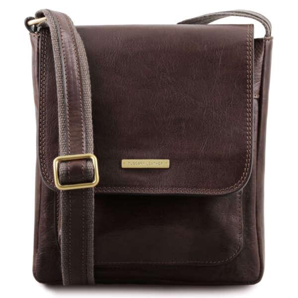 Италианска чанта от естествена кожа Jimmy TL141407