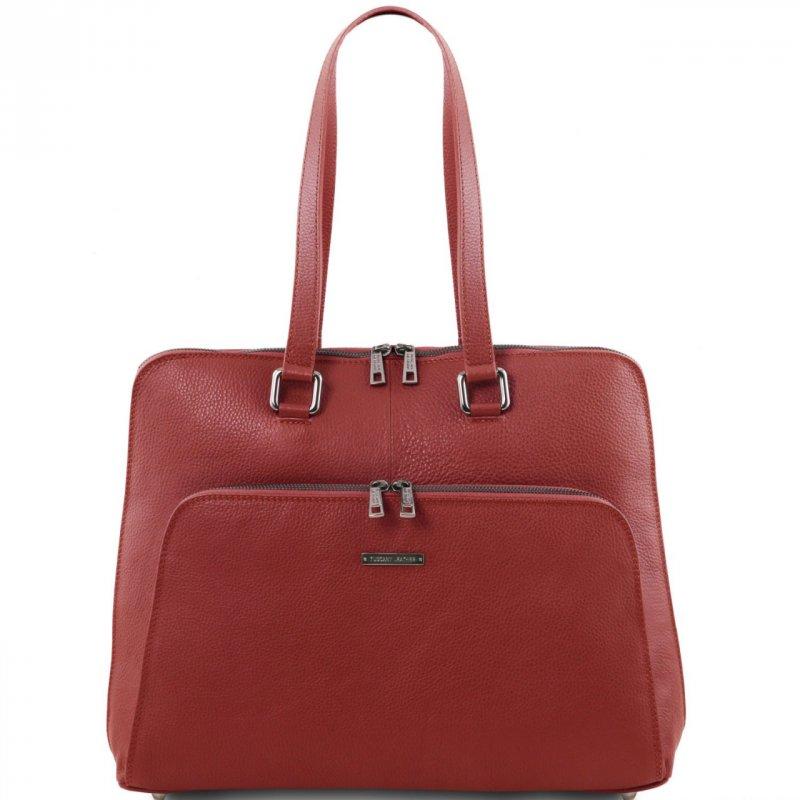 Дамска бизнес чанта от естествена кожа