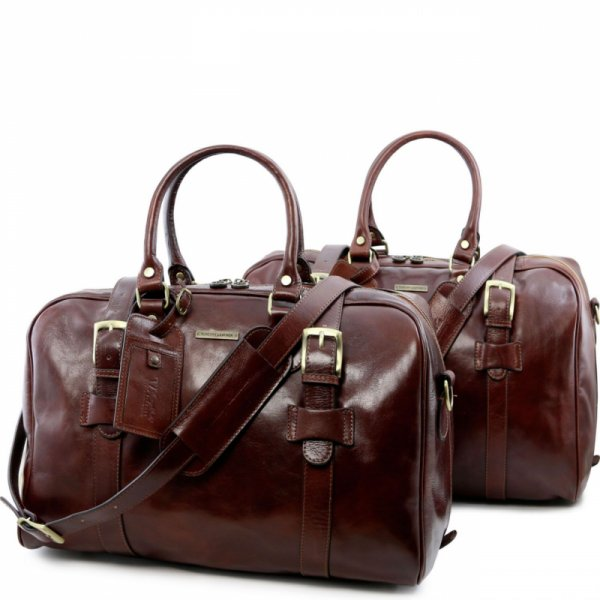 Комплект италиански чанти за пътуване Vespucci